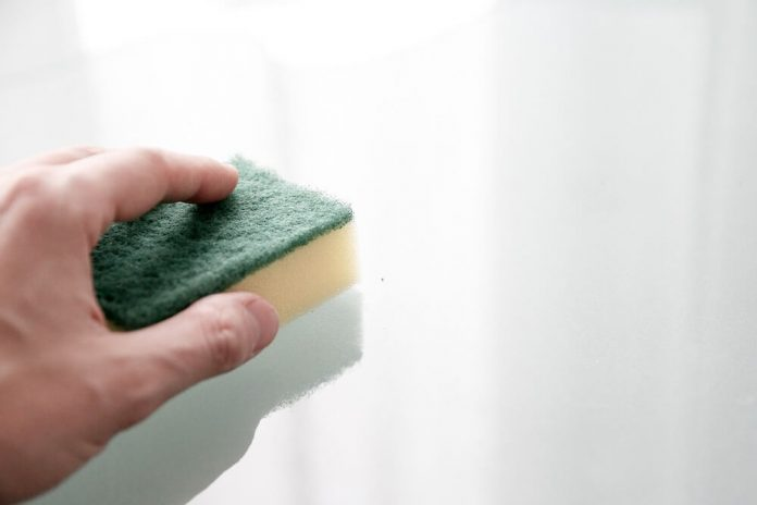 can you sterilize a sponge with a microwave