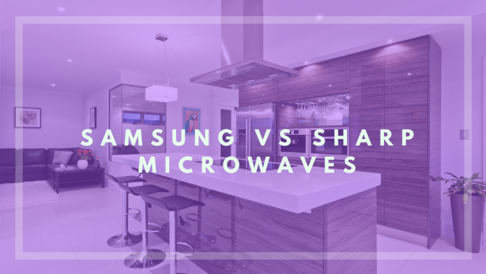samsung vs sharp microwave